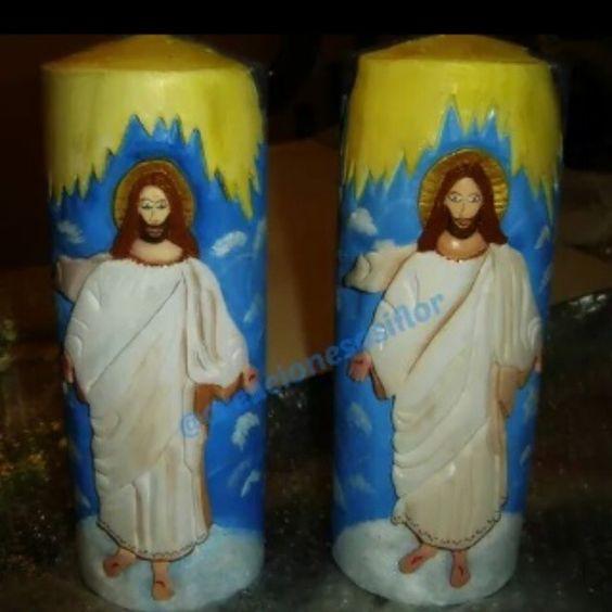 Feliz y bendecido Domingo de Resurrección.....!...Jesùs simbolo de paz, salvaci