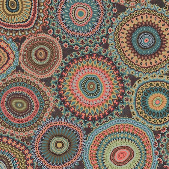 hippie and boho design patterns - Google Search