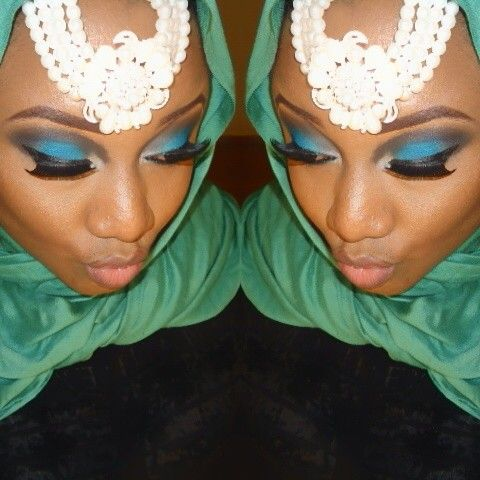Arabian inspired makeup by Gidibeauty @hotpikin