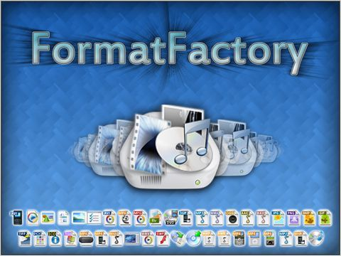 تحميل برنامج Format Factory لتحويل صيغ الملفات Format Video Websites Support Pictures
