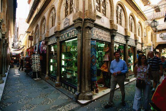 Alcaiceria Market, Granada