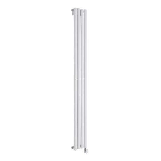 Design-Heizkörper Weiß Elektrisch Vertikal Revive 732 Watt 1780 mm x 236 mm - Image 1