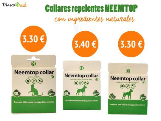 #neemtop #collares #repelentes #parásitos #mascotas #mascoweb #tiendaonline