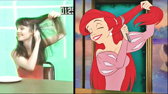 Image result for disney rotoscoping little mermaid