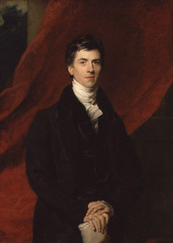 Henry Brougham, 1st Baron Brougham and Vaux, British statesman who became Lord Chancellor (Sir Thomas Lawrence, 1825).: