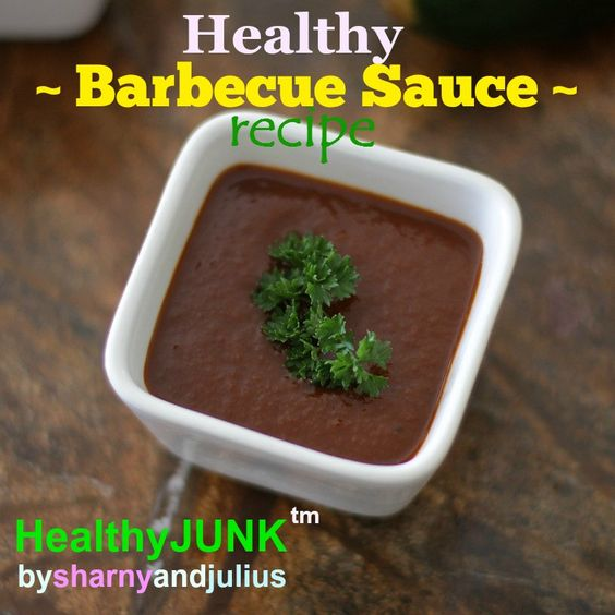 Healthy Barbecue Sauce Recipe | Sharny and Julius