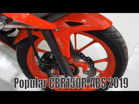 The Most Popular Bike Is The Honda Cbr150r 2019 Model Review Thai