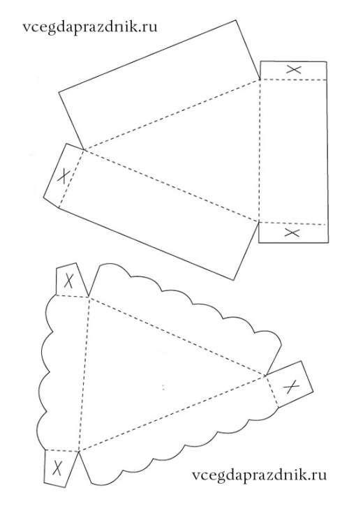 Картинки тортов из бумаги