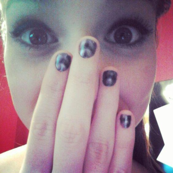 Magnet nails ((;