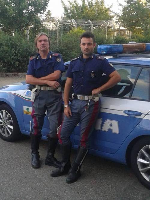 Italian Cops Hot Cops Men In Uniform Cops