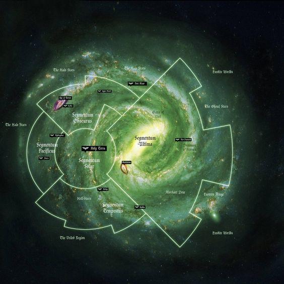 Galaxy Map v2 | Maps - RPG - Sci-fi, Modern, 40k etc ...