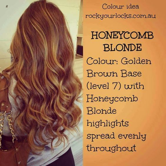 Honeycombs, Blondes and Hair color on Pinterest
