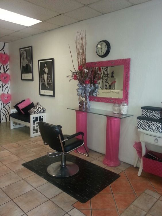 Mi salon de belleza ideas d esteticas pinterest for Articulos decoracion salon