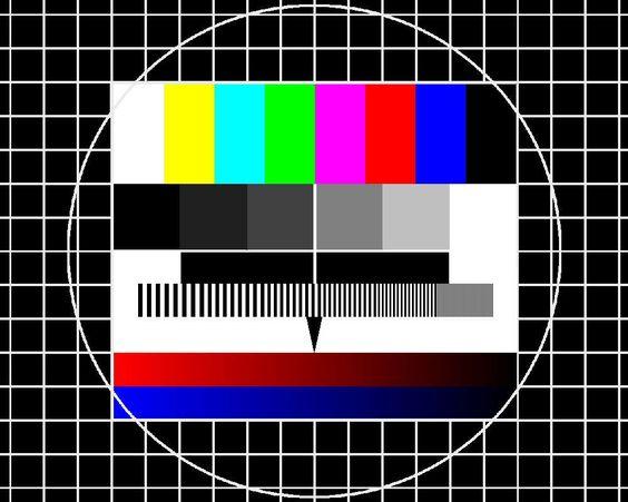 Das Testbild, ab Mitternacht war Schluß. Bis 1985 gab es in Deutschland nur die 3 öffentlich-rechtlichen Fernsehsender! Das Erste, das Zweite und das Dritte.