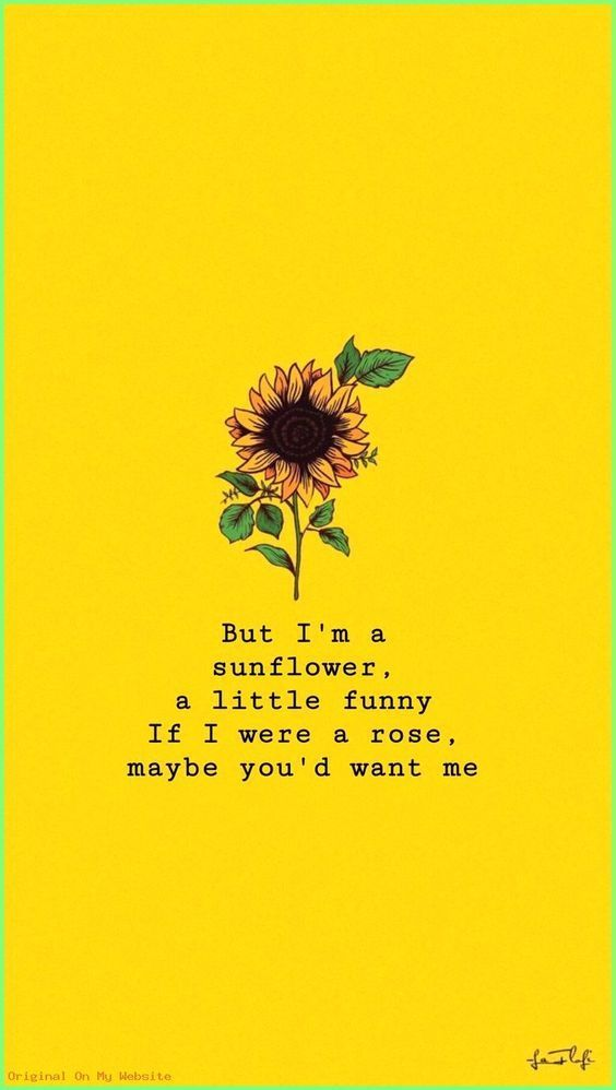 Follow My Youtube Channel Sunflower Quotes Wallpaper Quotes Sunflower Wallpaper