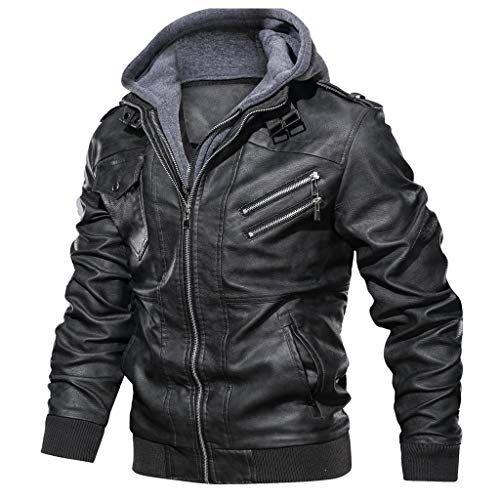 manteau homme hiver biker