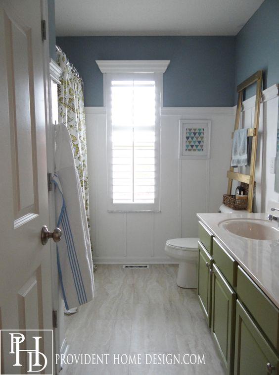 Blue Vinyl Tiles Bathroom: Vinyls, Buxton And Travertine On Pinterest