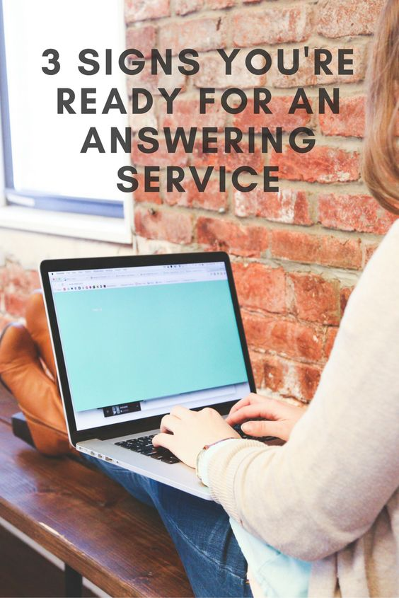 If you're starting to feel the pressure of too many incoming phone inquiries and it's pulling you away from more important tasks in your business, keep a lookout for these 3 signs, which are dead giveaways that you're ready to hire an answering service.  #SmallBusinessOwners #Entrepreneurs #AnsweringService