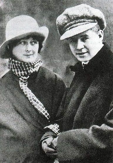 Sergei #Yesenin, Isadora Duncan.