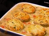 Barefoot Contessa's Chicken Stew with Biscuits...great comfort food