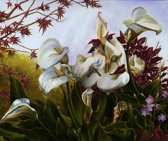 Perennial Beauty Series. Eric Montoya (born 1968), American Surrealist painter.
