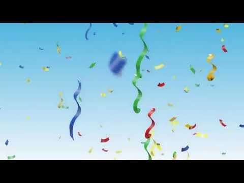 Party Background And Confetti Video Hd Youtube Party Background Kids Background Wallpaper
