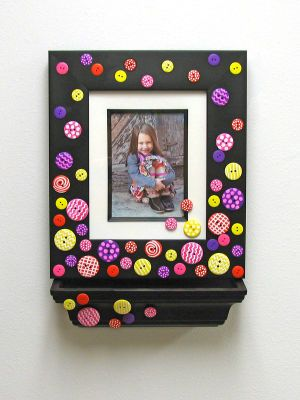 Painters Button Frame and SHelf
