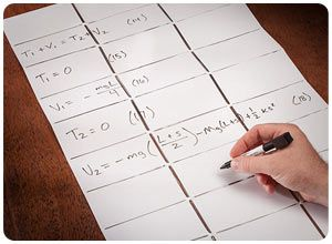 Foldable Pocket Whiteboard  Space in the home office or work cubicle is usually limited, so give Dad a foldable pocket whiteboard. It helps save space, so Dad doesn't have to sacrifice his much-needed whiteboard. $9