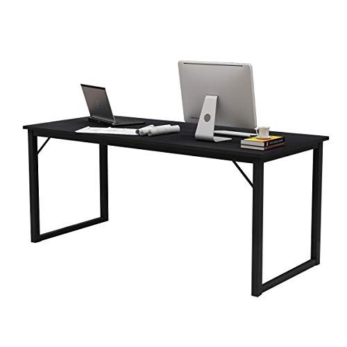 Soges 63 Inches Computer Desk Large Office Desk Computer Table Study Writing Desk For Home Office Gc P2jj 160bk Large Office Desk Home Desk Computer Table