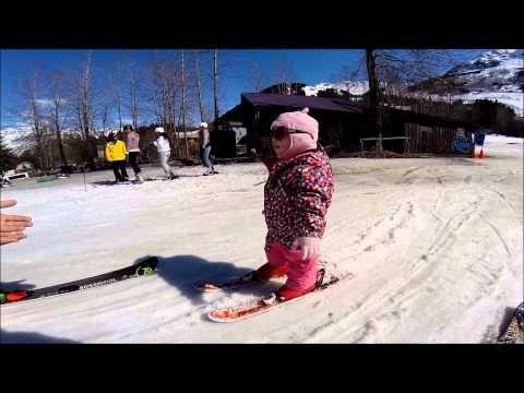 1 Year Old Alaskan Baby Skiing At Alyeska In Girdwood Alaska In Pretty Faces 2014 Aurora Burns Youtube Skier The Incredibles 1 Year Olds