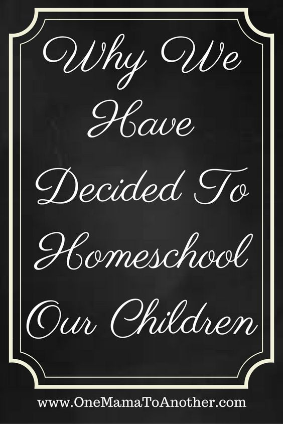 Why We Have Decided To Homeschool Our Children