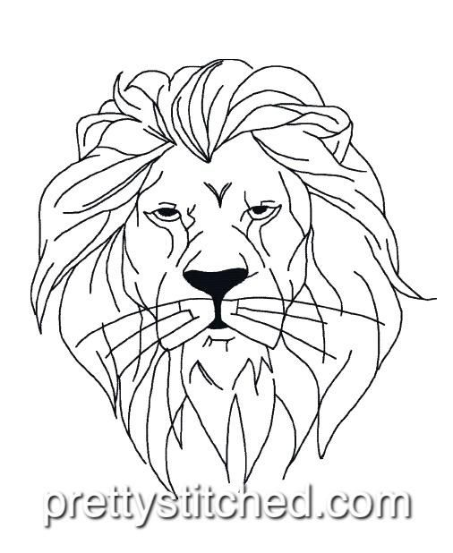 Lion Outline Lion Head Tattoos Lion Silhouette Lion Painting Lion head logo outline designed by 160 studio. pinterest