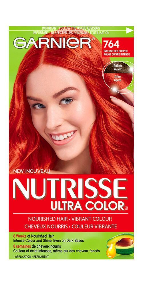 Dyeing My Hair Copper Red Orange Using Adore Cinnamon Cajun