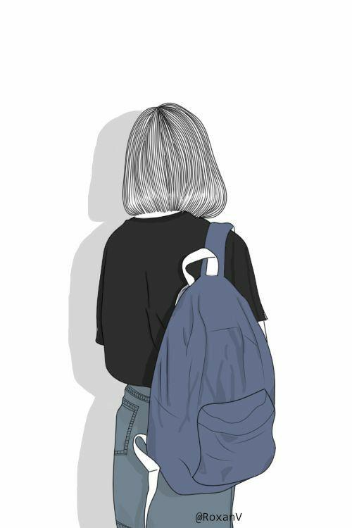 Illustrated Wallpaper Ilustrasi Orang Gadis Animasi Ilustrasi Karakter