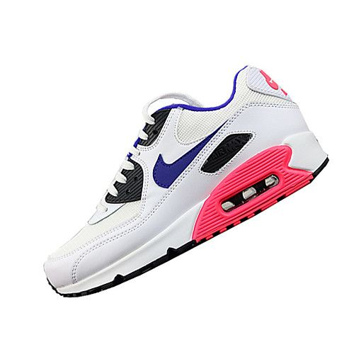 Nike Air Max 90 Essential Herren Sneaker Turnschuhe Sportschuhe weiß 537384 136