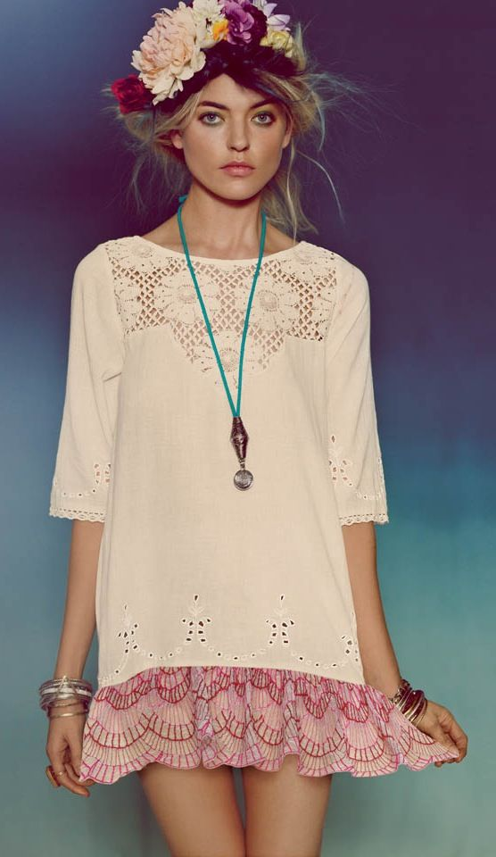 Get Festival-Ready With Free Peopleu0027s Latest Lookbook Chicas - hippies vestimenta