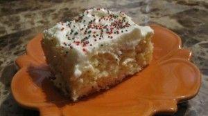Weight Watcher Sunshine Cake