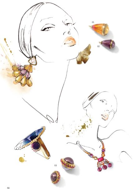 By yohanna design jewelry wholesale - Swarovski® Elements Fashion Trends: Fall/Winter 2014/2015-24
