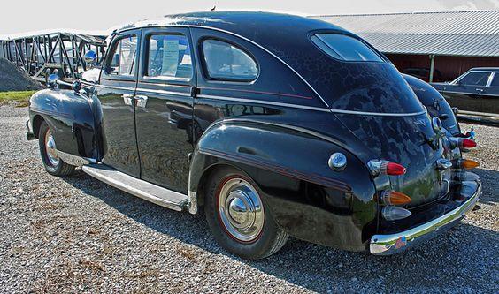 1940 dodge luxury liner deluxe sedan custom car vintage for 1940 dodge 4 door sedan