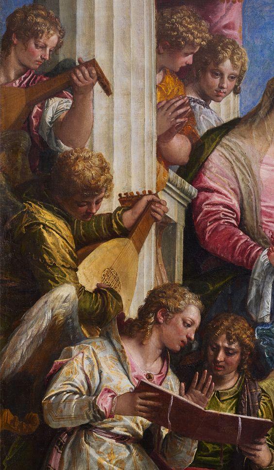 Paolo Veronese, Matrimonio mistico di Santa Caterina, 1567-68 (dettaglio), Venezia, Gallerie dell'Accademia