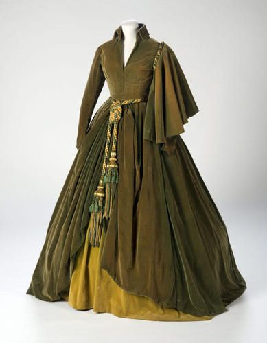 Iconic Gone With the Wind dress - Costume Designer Walter Plunkett: