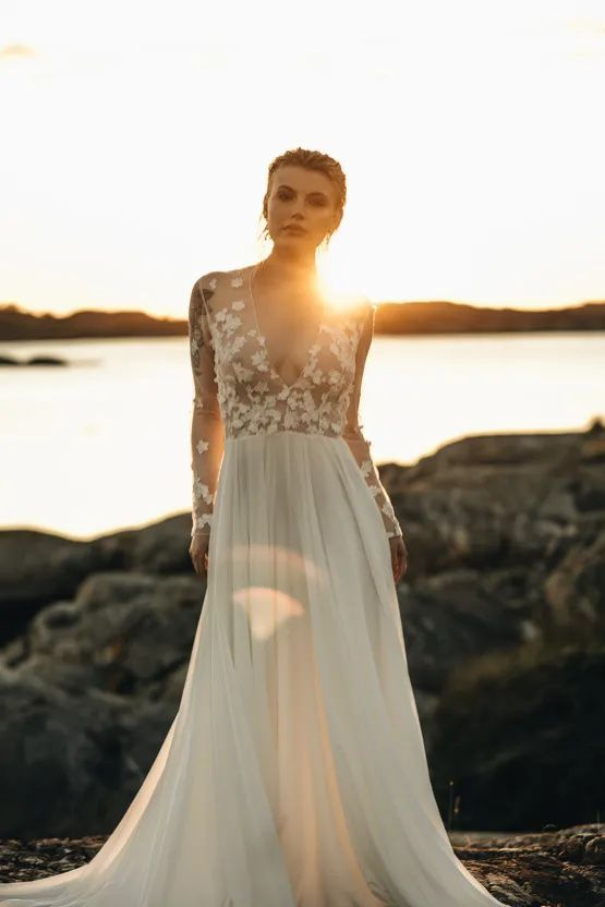 Stunning Scandinavian Bridal Inspiration A Special Swedish Pop Up In 2020 Bridal Inspiration Stylish Wedding Dresses Beautiful Wedding Dresses