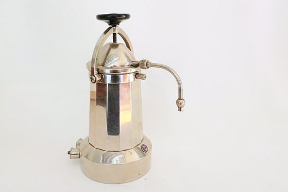 Electric Coffee Maker Invented : RARE Electric coffee maker