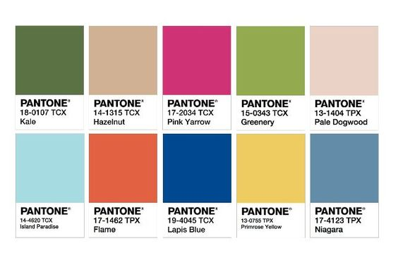 Pantone s 2017 Color Trend Predictions Declare It the Year of Kale via Brit + Co: