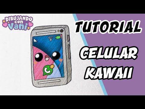 Como Dibujar Un Celular Kawaii Dibujos Anime Faciles Paso A Paso Draw Cell Phone Youtube Dibujo Paso A Paso Kawaii Dibujos