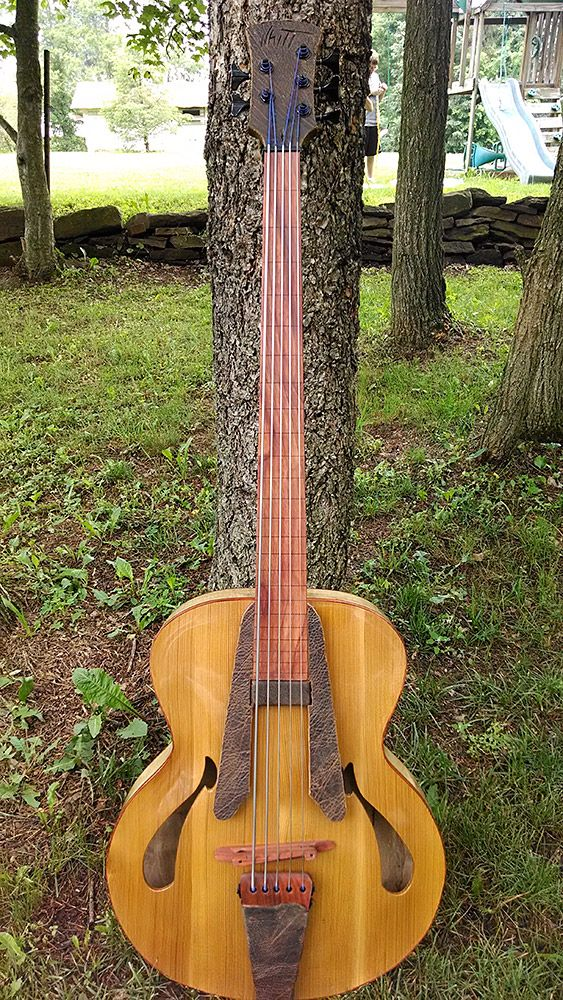 Whitt Guitars 5-String Fretless Archtop Acoustic Bass