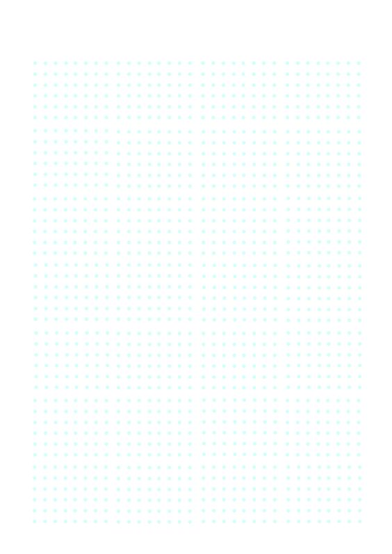 Bullet Journal A4 printable dot template - I made it as I like the - loose leaf template