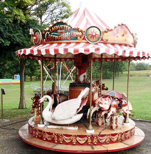 Carrousel Home and Gifts Bo/îte /à souvenir en bois Motif jalon