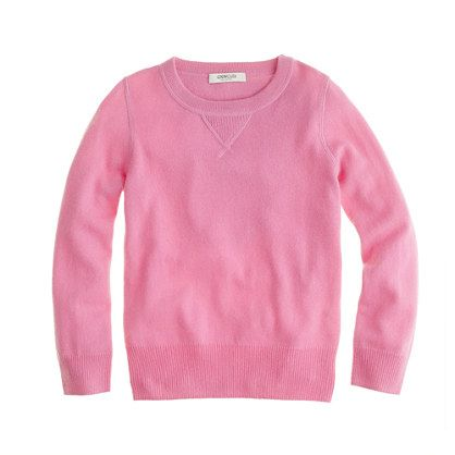 J. Crew Kids' cashmere sweatshirt