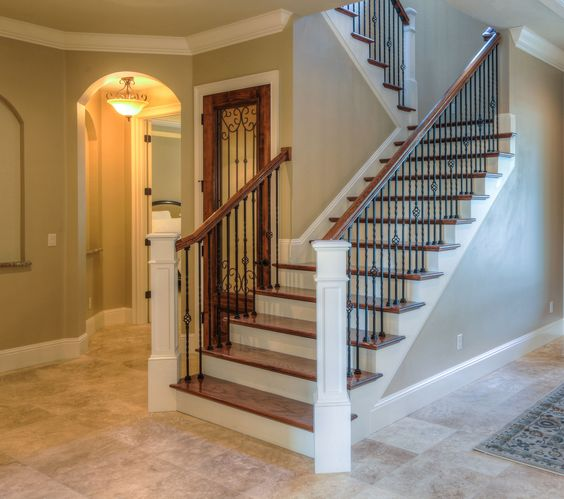 Open Foyer Loft : Traditional foyers and iron doors on pinterest